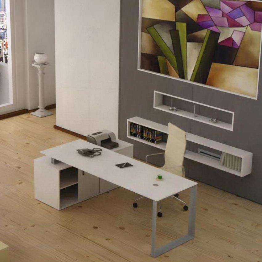 میز دفتری ال دار