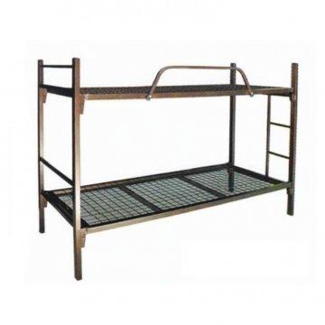 تخت سربازی دوطبقه فلزی کف توری ارزان