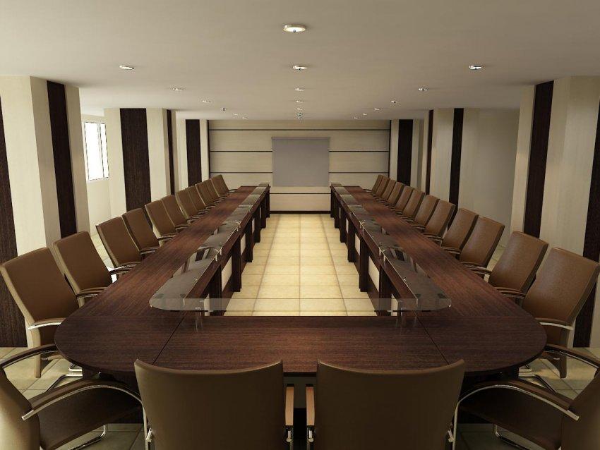 میز کنفرانسی یو