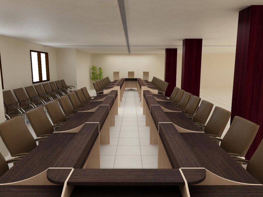 میز کنفرانس u شکل