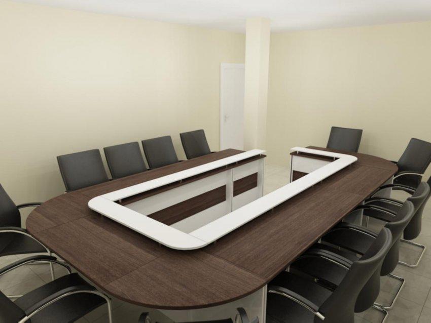 میز یو شکل کنفرانس