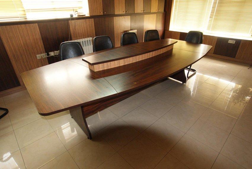 میز کنفرانس 10 نفره بیضی