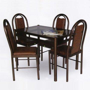 میز نهارخوری فلزی
