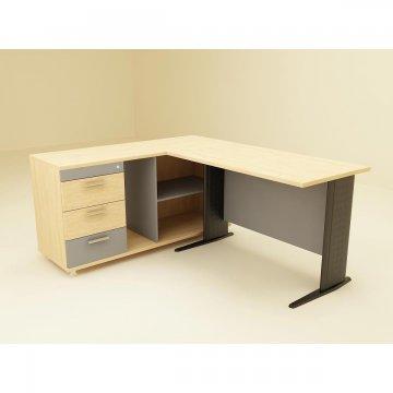 میز کارشناسی اداری پایه فلزی