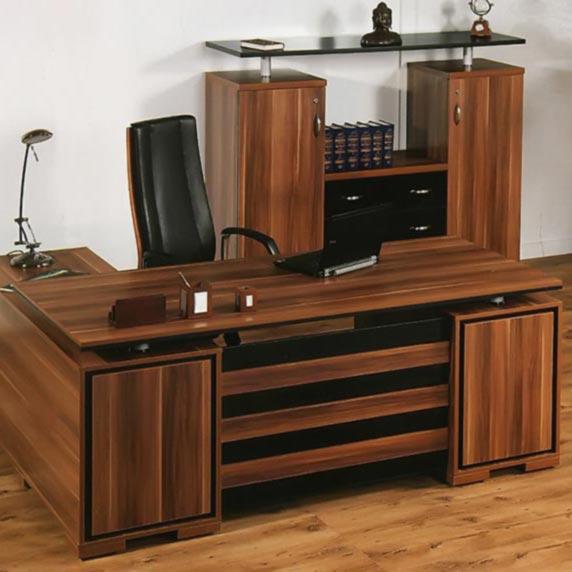 میز مدیریتی 2 متری ال و صندوق