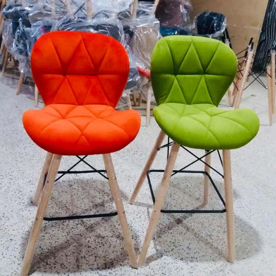 صندلی اپن پایه چوبی