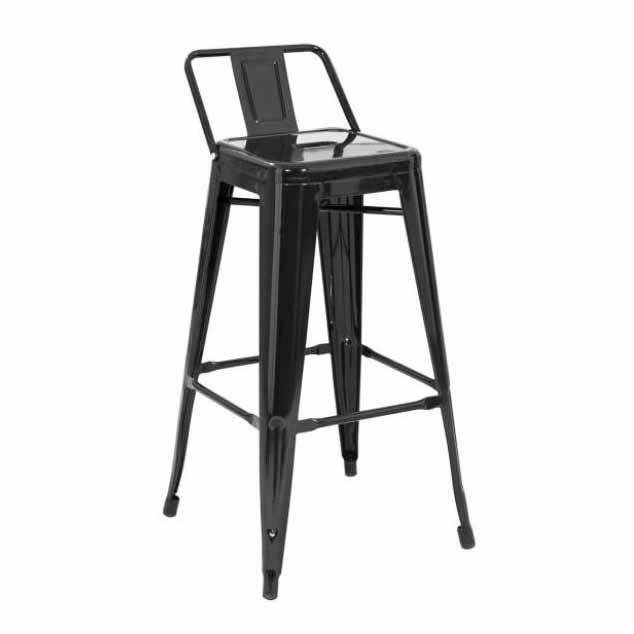 صندلی بار اپن فلزی چهار پایه