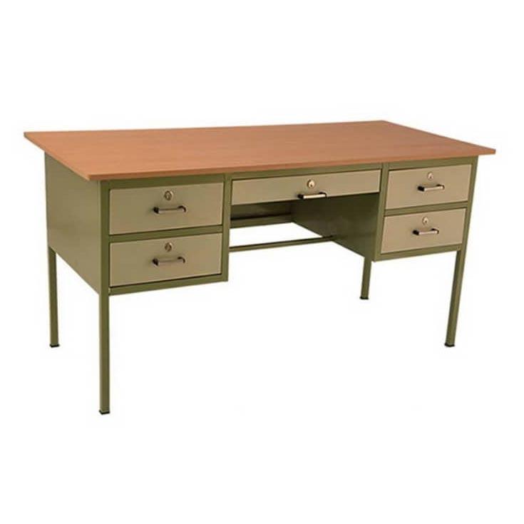 میز فلزی پنچ کشو