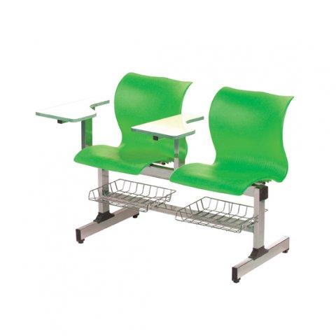 صندلی اموزشی دو نفره دسته محصلی ام دی اف تاشو