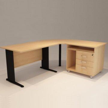 میز منشی ال شکل