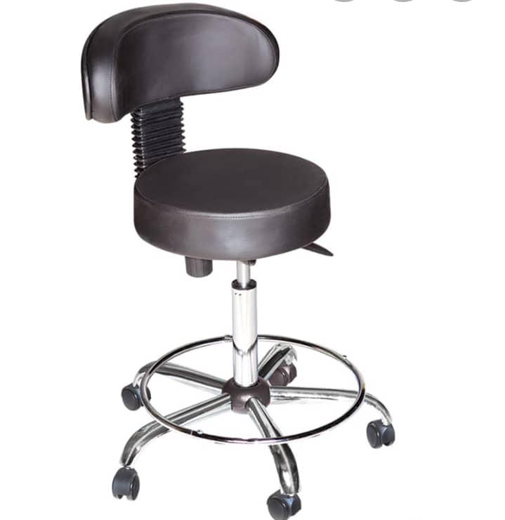 صندلی ازمایشگاهی پشتی دار