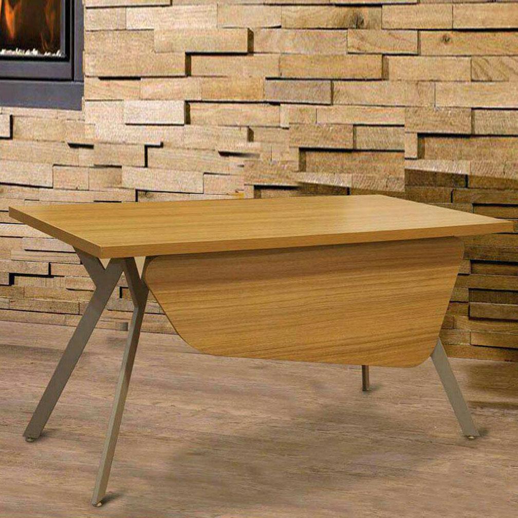 میز اداری تک پایه فلزی مدرن