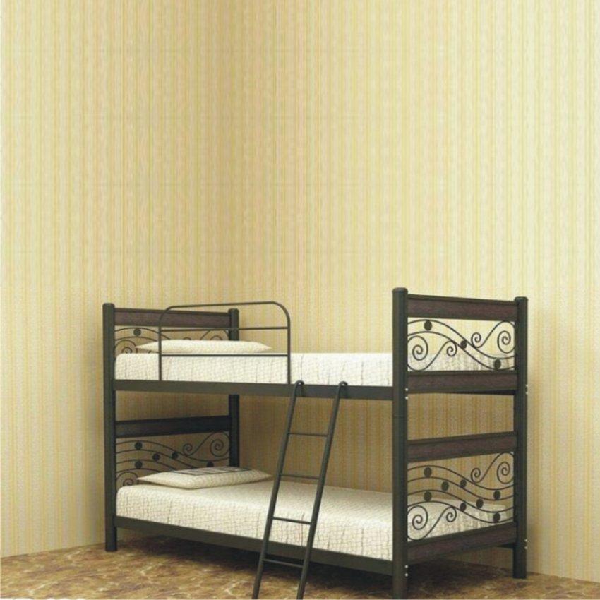 تختخواب دو طبقه فلزی اداری خانگی