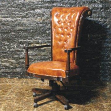 صندلی مدیریت چوبی