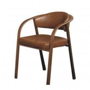 صندلی چهارپایه فلزی